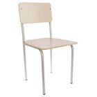 Детский стульчик нерегулируемый, цвет ваниль