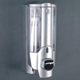 Дозатор для жидкого мыла Accoona A183, настенный, 350 мл, пластик, цвет серый