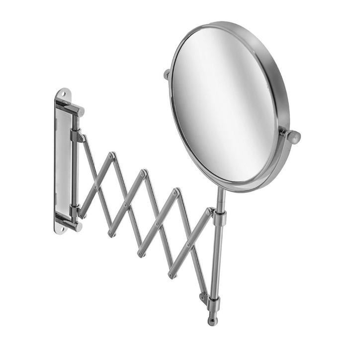Зеркало увеличительное Accoona A222-6, настенное, выдвигающиеся
