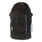 Рюкзак молодежный эргономичная спинка Ergobag 46*30*25 Satch Purple Hibiscus, чёрный