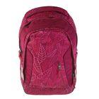 Рюкзак молодежный эргономичная спинка Ergobag 46*31*18 Satch Sleek дев Purpure Leaves, малиновый