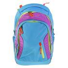 Рюкзак молодежный эргономичная спинка Ergobag 46*31*18 Satch Sleek Flash Jumper, голубой