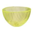 """Салатник d=12 см """"Альтера"""", 350 мл, цвет желтый, прозрачный"""