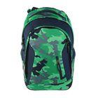 Рюкзак молодежный эргономичная спинка Ergobag 46*31*18 Satch Sleek Green Camou SAT-SLE-001-9D8