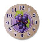 """Часы """"Виноград"""" круглые круглые, Ø 25 см"""