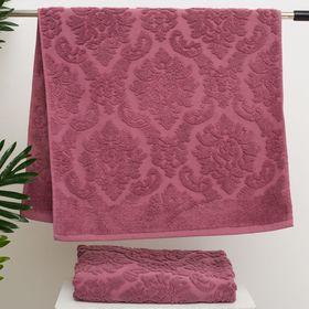 Полотенце махровое стриженое Spany Interio, VALENCIA цв.розовый, 50х90 хл.100%