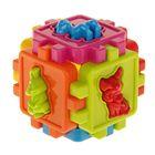 Логический куб-сортер с животными