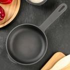 Сковорода чугунная 16х4 см, литая ручка