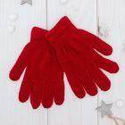 """Перчатки Collorista """"Радуга"""", размер 14, цвет бордовый"""