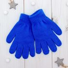 """Перчатки Collorista """"Радуга"""", размер 14 (р-р произв. 14*7 см), цвет синий"""