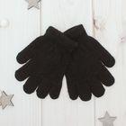 """Перчатки """"Collorista"""" Радуга, размер 14, цвет чёрный"""