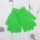 """Перчатки Collorista """"Радуга"""", размер 14, цвет зелёный"""