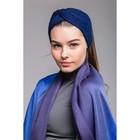"""Повязка женская """"Марьям"""", размер 54-56, цвет синий"""