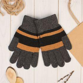 Перчатки шерстяные мужские 'Юклид', размер 22 Ош