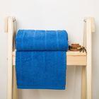 Полотенце махровое Spany Road цв.синий 50х90, 300г/м, хл100%
