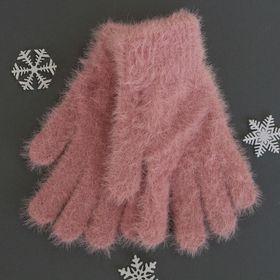 """Перчатки женские """"Самира"""", размер 16, цвет розовый"""