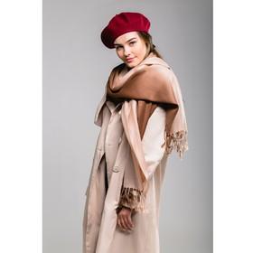"""Берет шерстяной женский """"Ромилда"""", размер 54-56, цвет бордовый"""