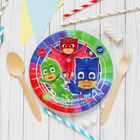 Тарелка бумажная PJ Masks, 18 см, набор 6 шт.