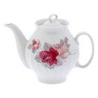 """Чайник 1 л """"Белый лебедь. Дикая роза"""""""