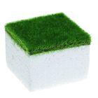 Основа для композиций, с травкой, квадратная