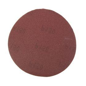 Круги шлифовальные сплошные FIT (липучка), алюминий-оксидные, 125 мм, 5 шт, Р150 Ош