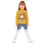 """Джемпер для девочки """"Мурлыка"""", рост 86 см (48), цвет оранжевый ДДД039023м_М"""