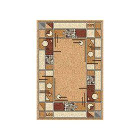 Ковёр БЦФ ПП LAGUNA_ALBINA 3, 0,8*1,5, прямоугольный, BEIGE MР