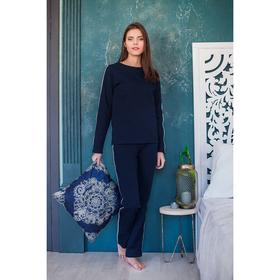 """Костюм женский (джемпер, брюки) """"Франческа"""", цвет темно-синий, р-р 42 2030"""