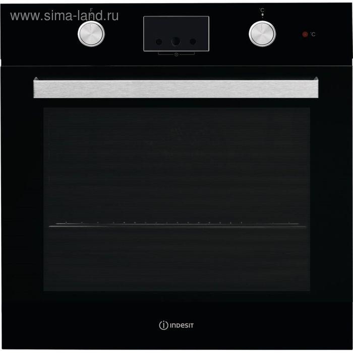 Духовой шкаф Indesit IFW 65Y0 J BL, черный