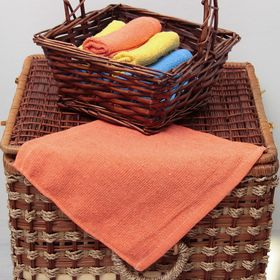 Салфетка 'ВыгоДА', размер 24х24 см, цвет оранжевый Ош