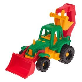 """Трактор """"Ижора"""" с грейдером и ковшом 152"""