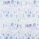 "Бумага упаковочная тишью ""Снежный лес"", 50 х70 см"