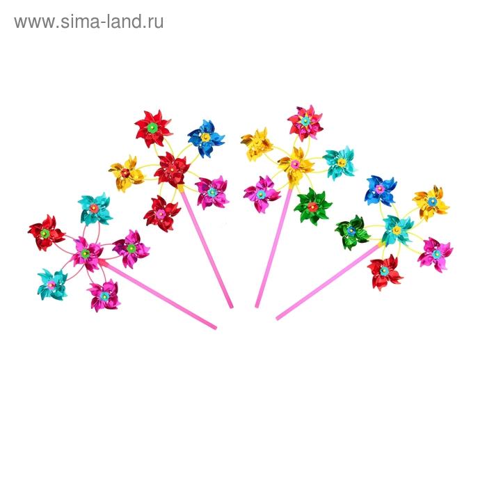 """Ветерок """"Цветок"""" большой, 6 элементов"""