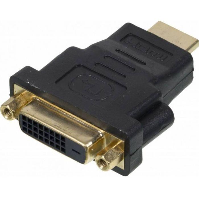 Переходник Video Ningbo, HDMI (m), DVI-D(f), позолоченные контакты