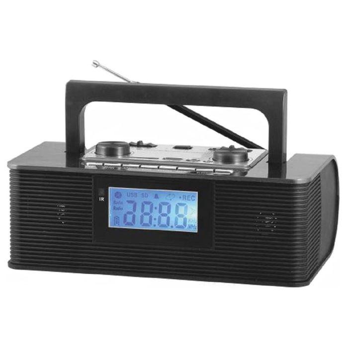 Радиоприемник Сигнал БЗРП РП-315, портативный, USB, SD, черный
