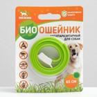 Биоошейник антипаразитарный ПИЖОН для собак от блох и клещей, зеленый, 65 см
