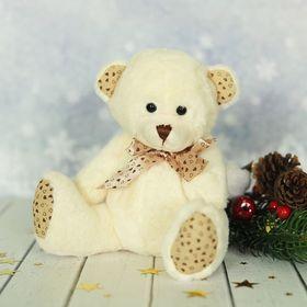 "Мягкая игрушка ""Мишка"", лапки в мелкое сердечко, цвета МИКС"