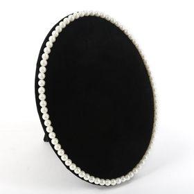Подставка под украшения 'Жемчуг', 16,5*2,5*22, цвет чёрный, белый Ош