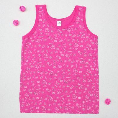 Майка для девочки, рост 146-152 см (42), цвет розовый