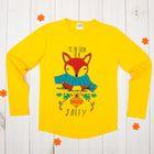 Джемпер для девочки, рост 98-104 см (28), цвет жёлтый 50009