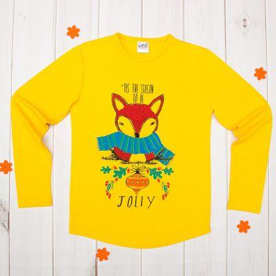 Джемпер для девочки, рост 146-152 см (42), цвет жёлтый 50009