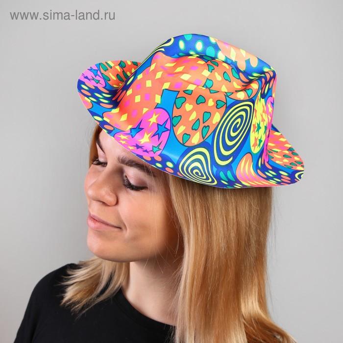 """Карнавальная шляпа с выемкой """"Серпантин"""""""