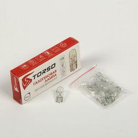 Комплект галогенных ламп TORSO T10 W5W, 3300 K, 12 В, 10 шт.