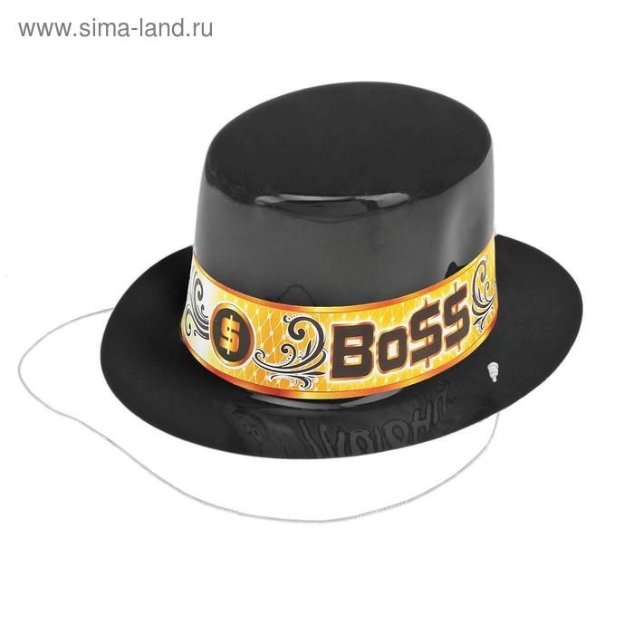 """Шляпка мини """"BO$$"""""""