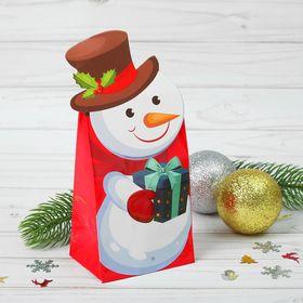 """Пакет подарочный """"Веселый праздник"""" набор 3 пакета"""