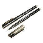 Ручка гелевая ПИШИ-СТИРАЙ 0,5мм стержень черный корпус черный с резиновым держателем