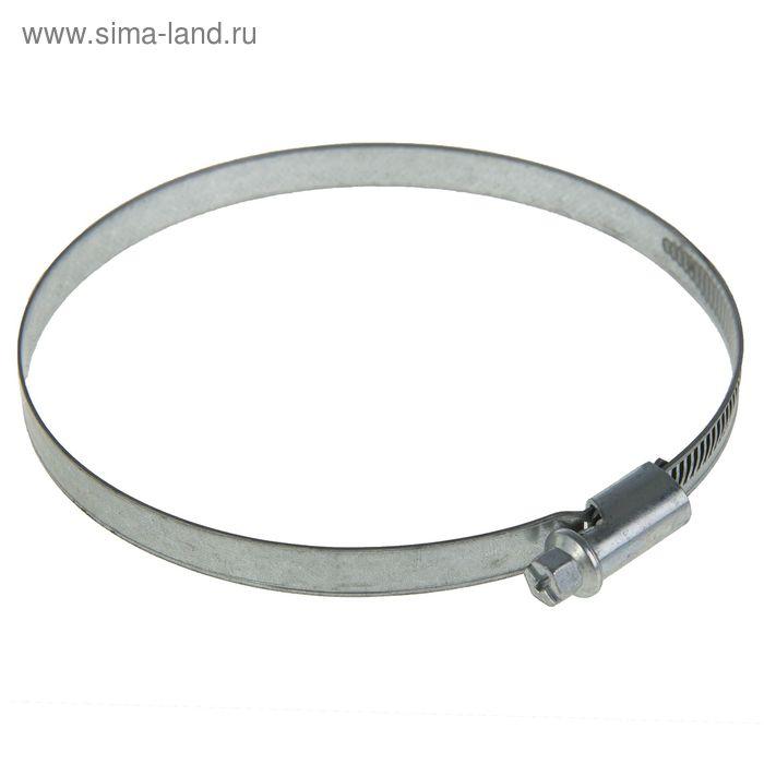 Хомут червячный NORMA, диаметр 90-110 мм, ширина ленты 9 мм, оцинкованный