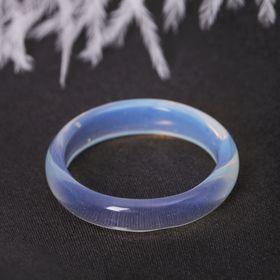 Кольцо гладкое 'Лунный камень' 6 мм Ош