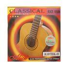 Струны для классической гитары Alice A107BK, черный нейлон