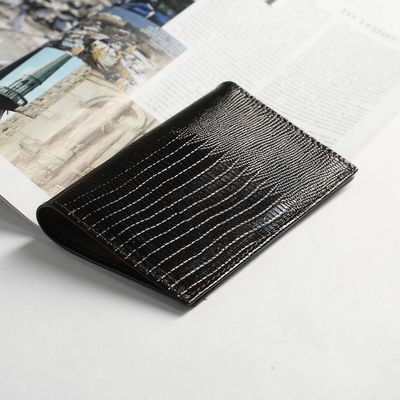 Обложка для паспорта, для карт, ящерица, цвет тёмно-коричневый